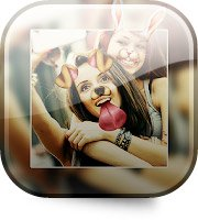 Фоторедактор Collage Maker для смартфона