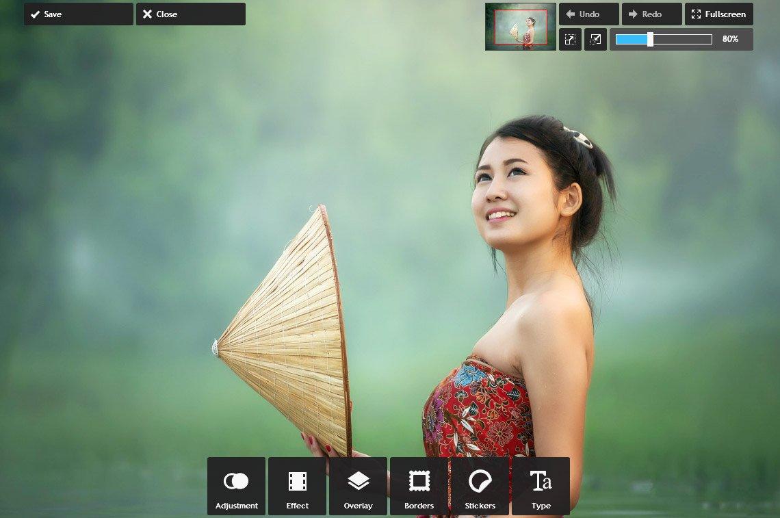 Онлайн-фоторедактор Pixlr Express