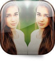 Фоторедактор Selfie Camera Filter & Mirror Image для смартфона