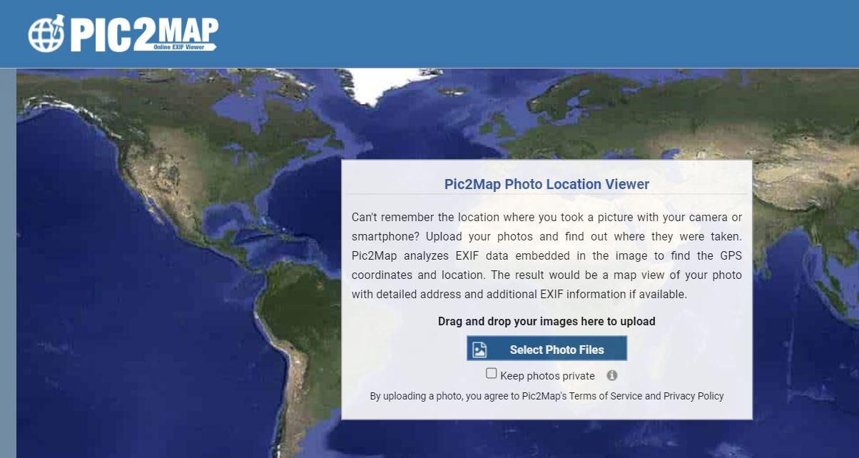 узнать геолокацию фото